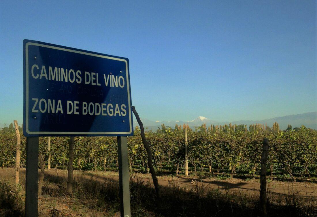 Rota do vinho, em Mendoza, na Argentina