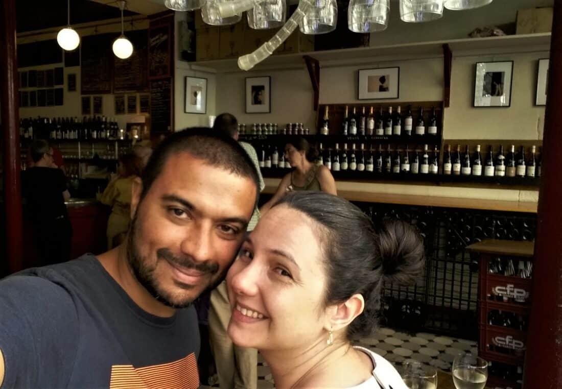 Eduardo Carvalho e Letícia Sicsú