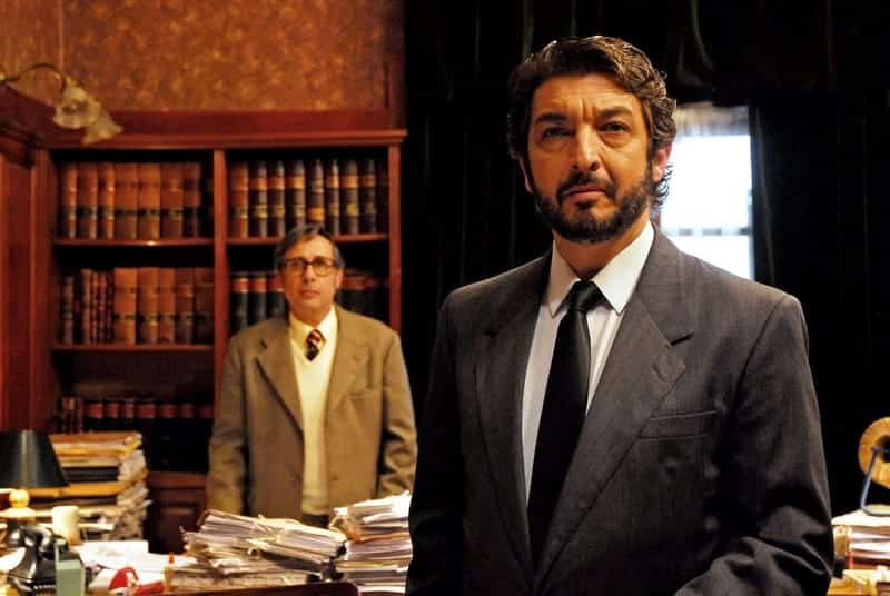 Cena do filme O Segredo dos seus olhos, com Ricardo Darin